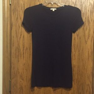 Navy blue T shirt size small like new